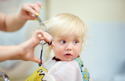 Taglio capelli bimba 19 mesi