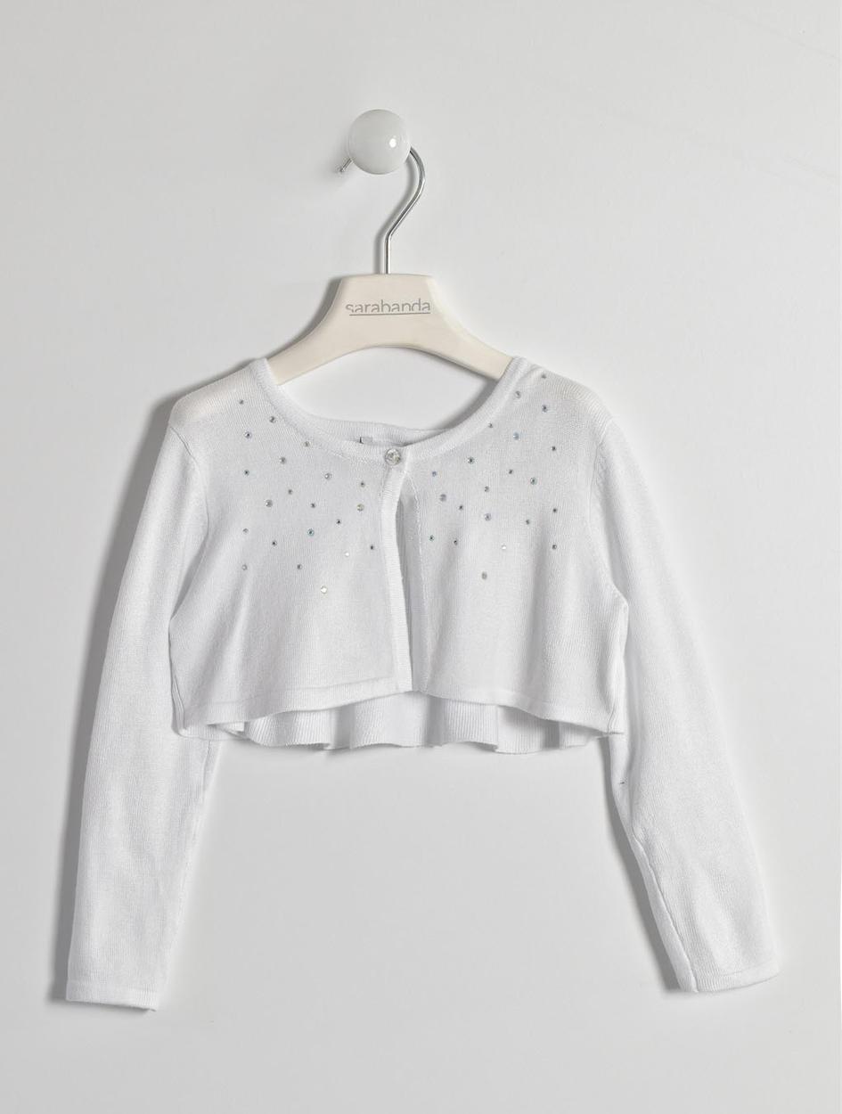 low priced 4f583 a4625 Coprispalle in tricot di viscosa per bambina da 6 mesi a 7 anni Sarabanda