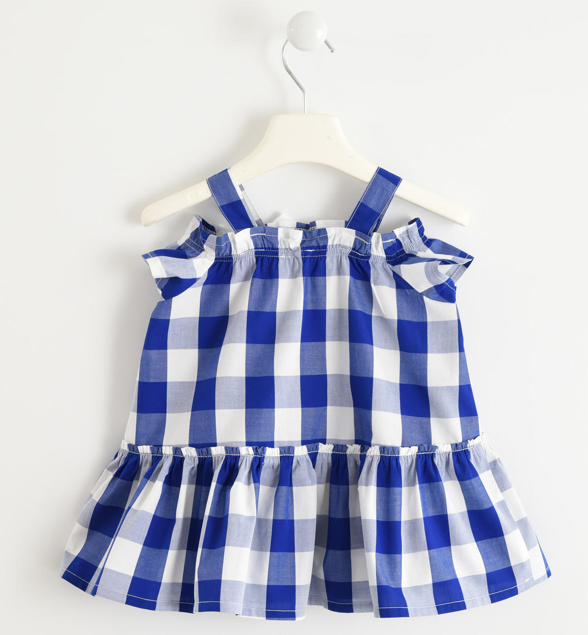 25231fde8 100% cotton dress with check pattern for baby girls from 6 months to ...
