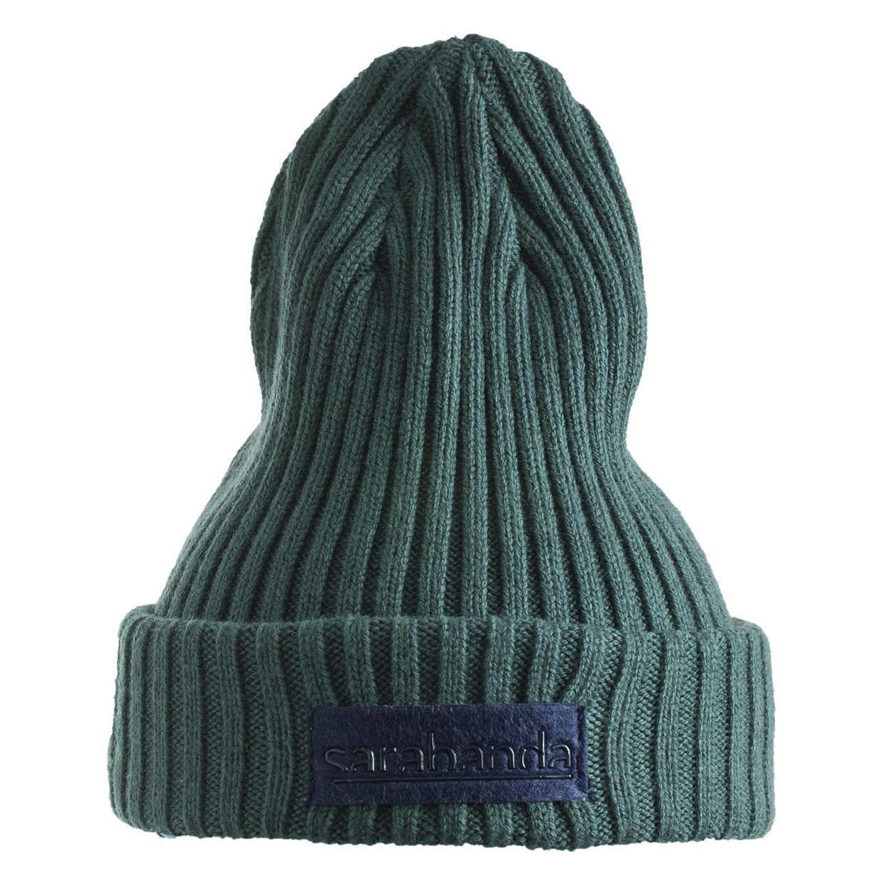 Cappellino modello cuffia in tricot misto cotone per bambino da 6 mesi a 7  anni Sarabanda d16691b36b0f