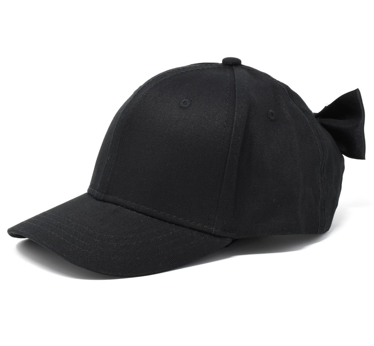 Cappello 100% cotone con fiocco per bambina da 6 a 16 anni Sarabanda NERO- 9e7f6a84f4f6