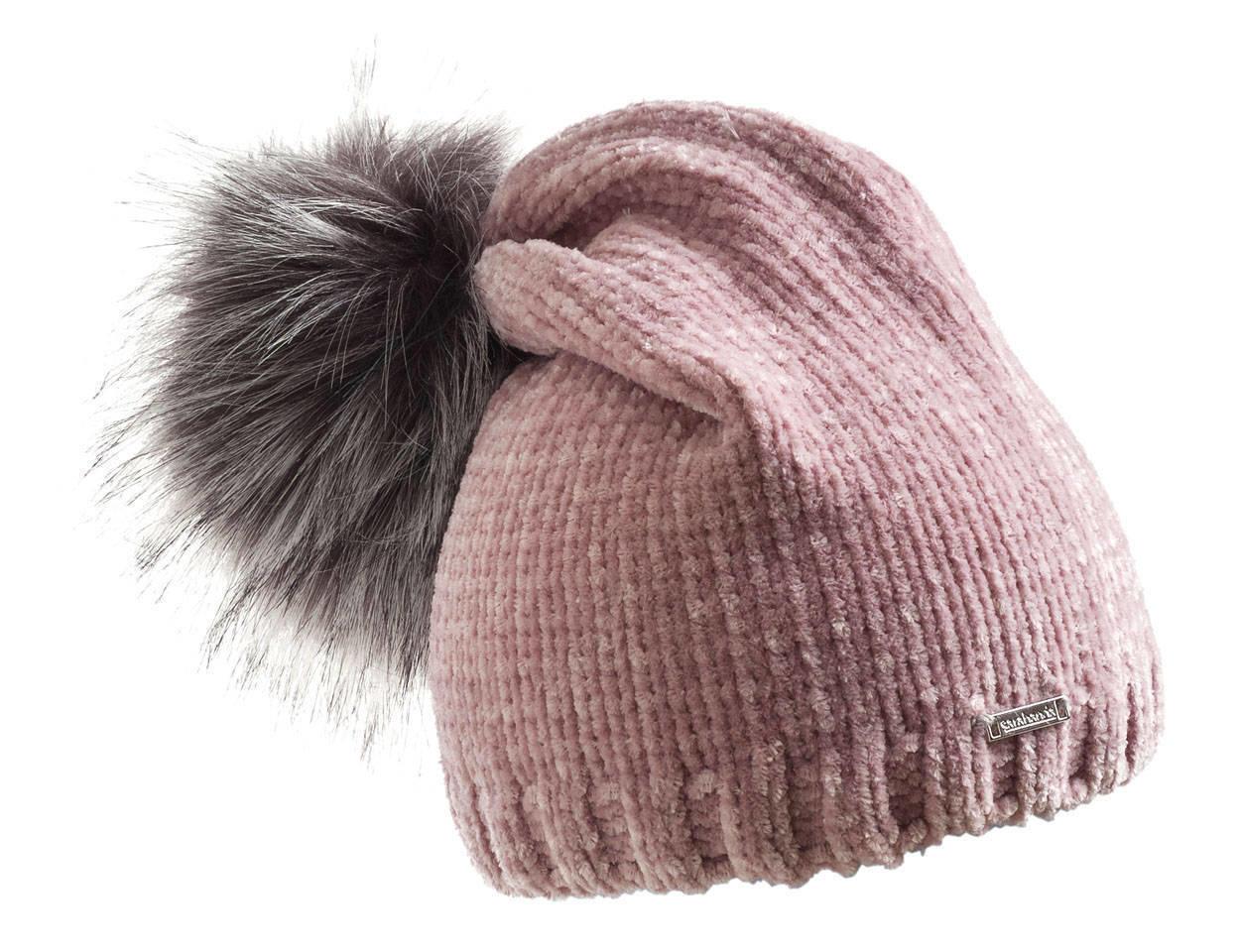 Cappello in ciniglia con particolare pom pon per bambina da 6 a 16 anni  Sarabanda ROSA 648fbce33fc4