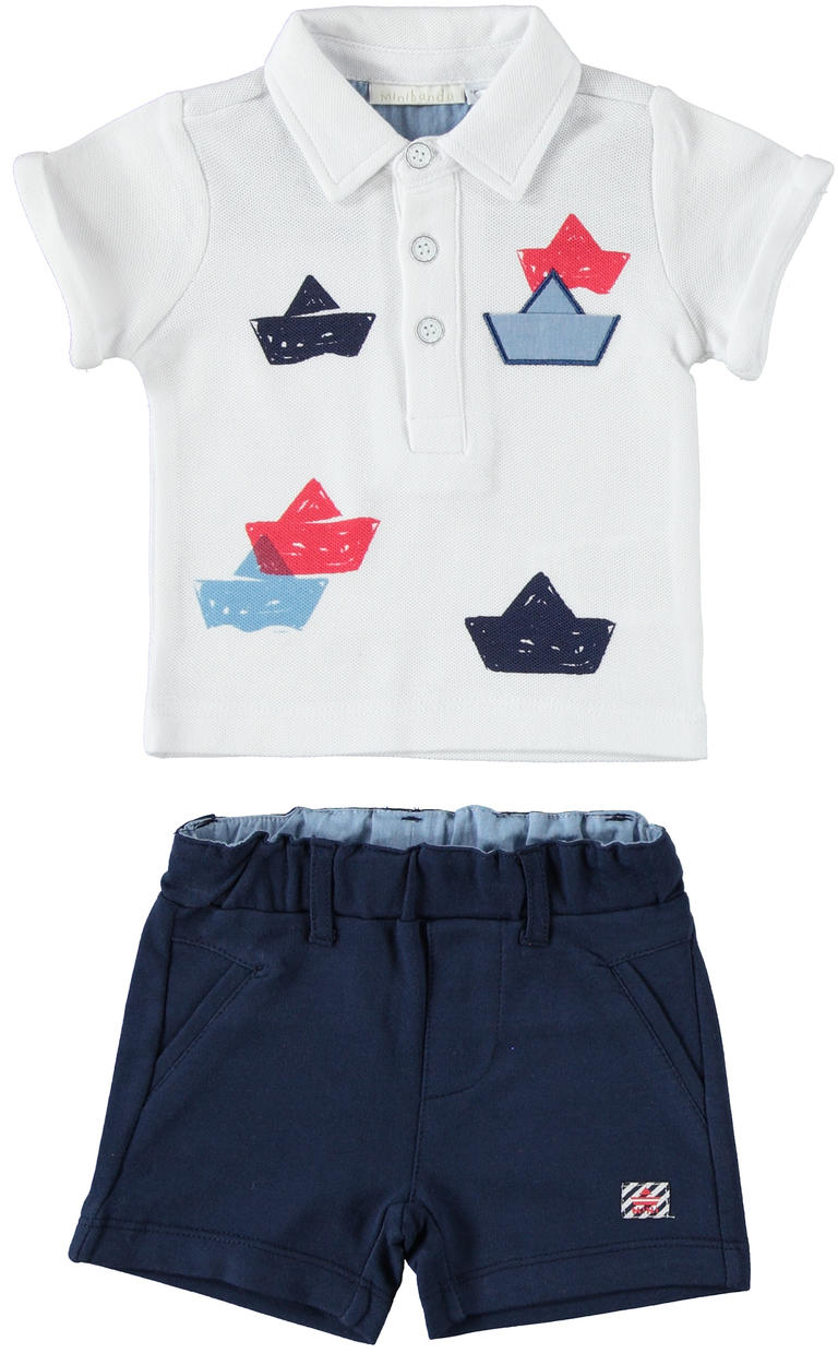 e9a8b0046 Comfortable two-piece outfit baby boy for the Summer 100% cotton for ...
