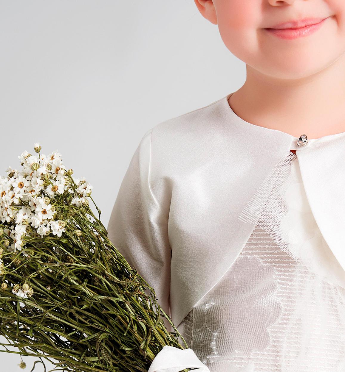 superior quality fbfc3 2782c Coprispalla bambina in taffetà misto cotone per bambina da 6 ...