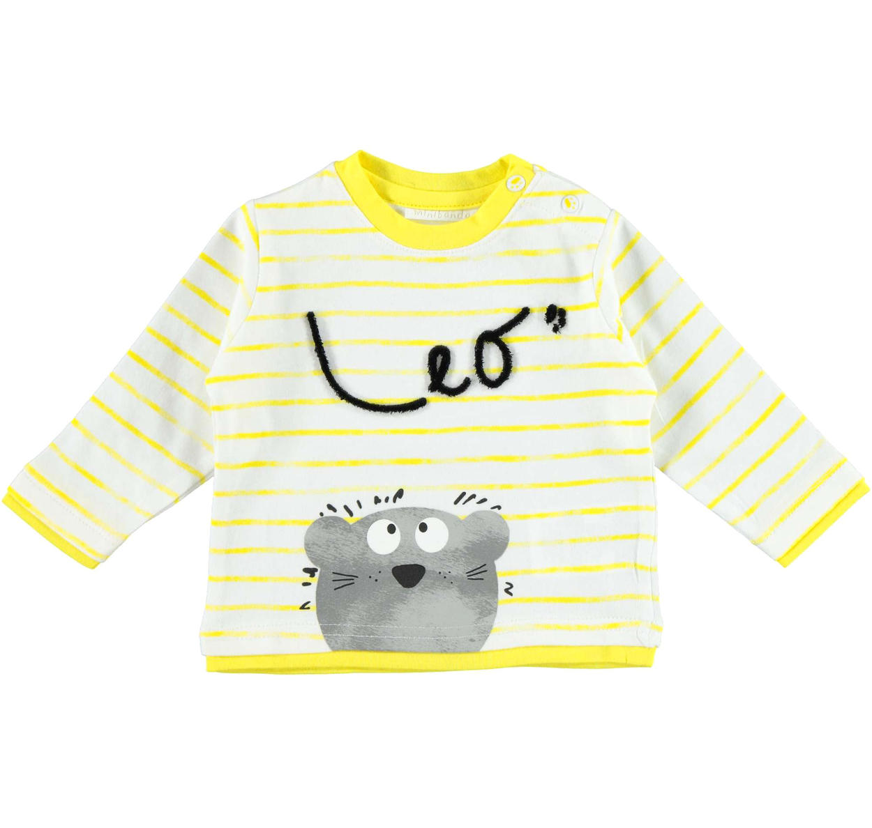 f38c0c670 Very sweet Minibanda 100% cotton long-sleeved t-shirt with lion for ...