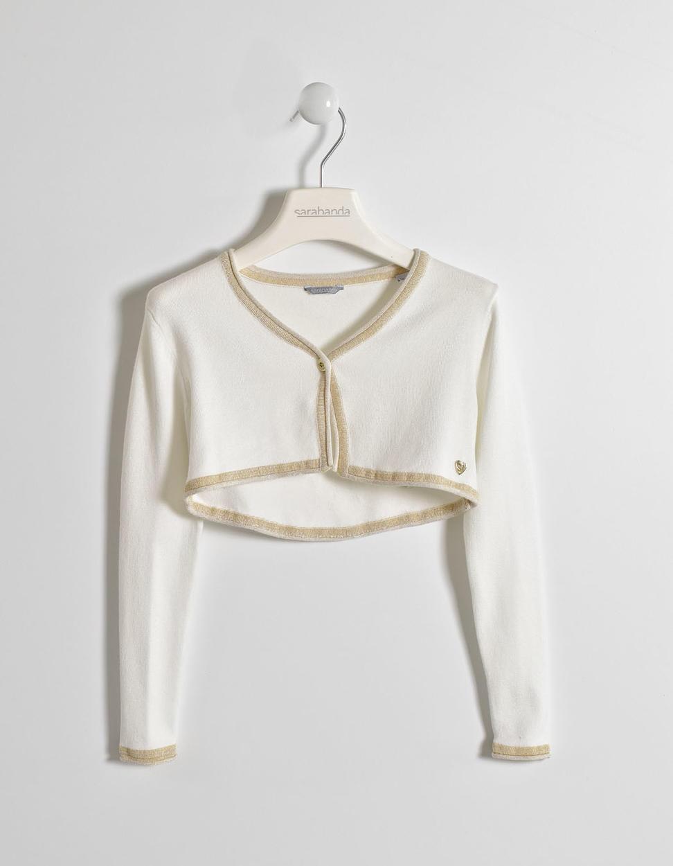 factory authentic 741e4 80576 Elegante e comodo coprispalla in tricot di viscosa per bambina da 6 a 16  anni Sarabanda