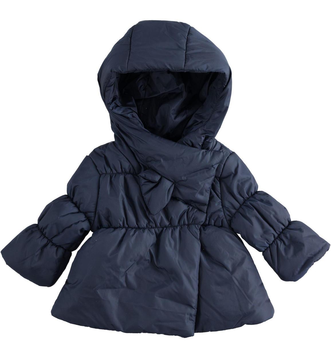 bella vista comprando ora nuove varietà Elegante giubbotto in nylon imbottito in ovatta per neonata da 0 a 24 mesi  Minibanda
