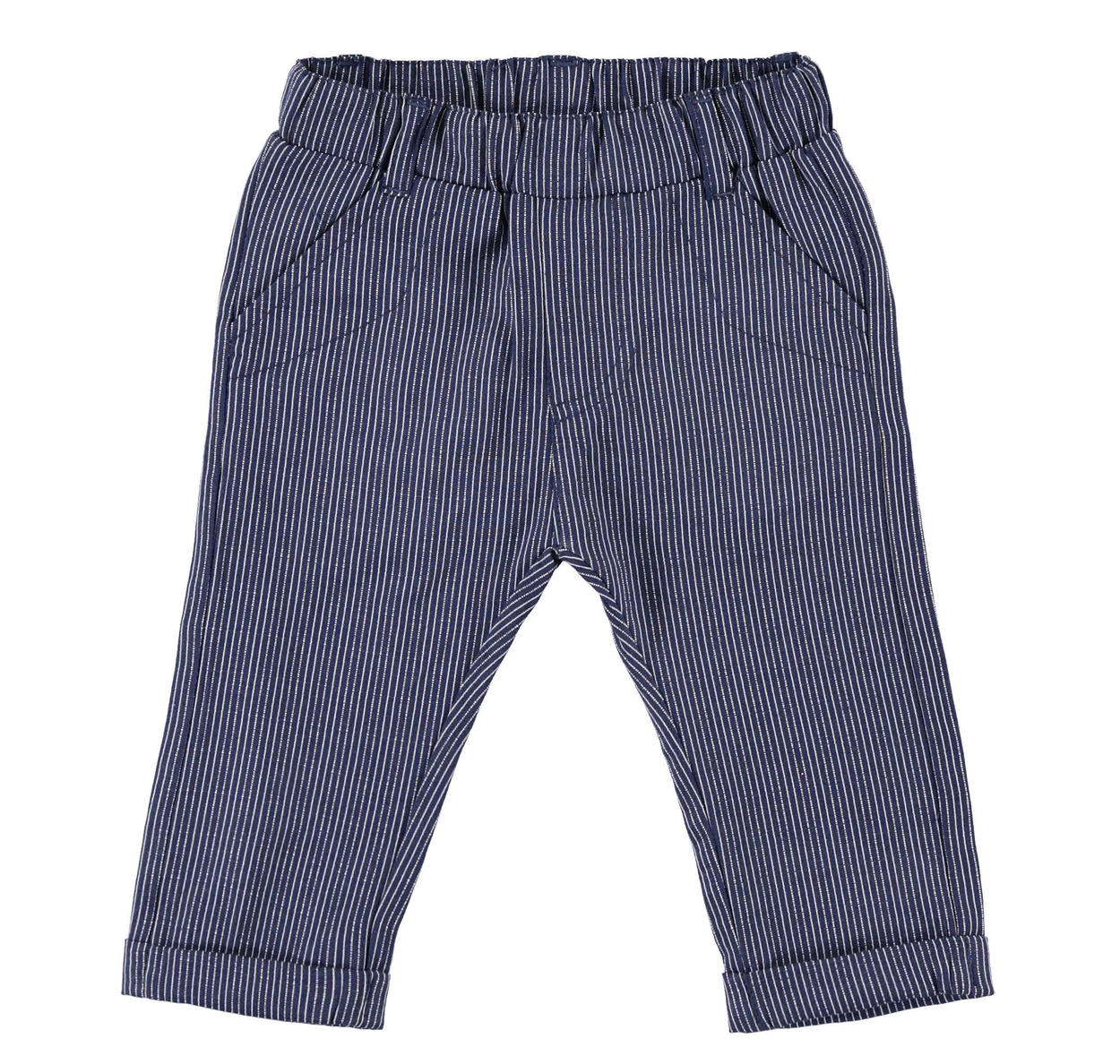 78f13c6a3 Elegant pinstripe ceremony trousers for newborn from 0 to 24 months ...