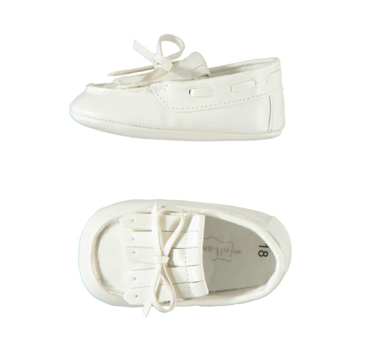 finest selection e196e 6052d Eleganti e comode scarpe cerimonia per neonato da 0 a 24 mesi Minibanda