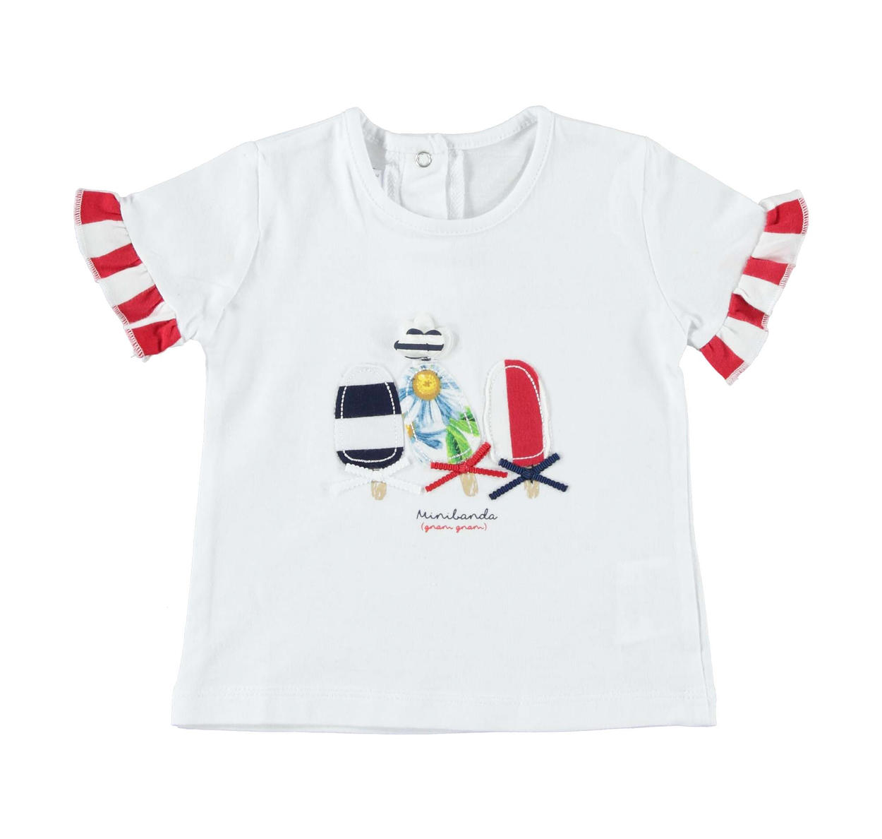 d1e49741482 Summer 100% cotton baby girl t-shirt for newborn from 0 to 24 months ...
