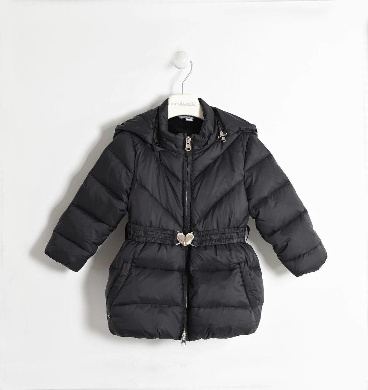 07afe99eb00b Sarabanda real goose down jacket with detachable hood for girls from 6  months to 7 years