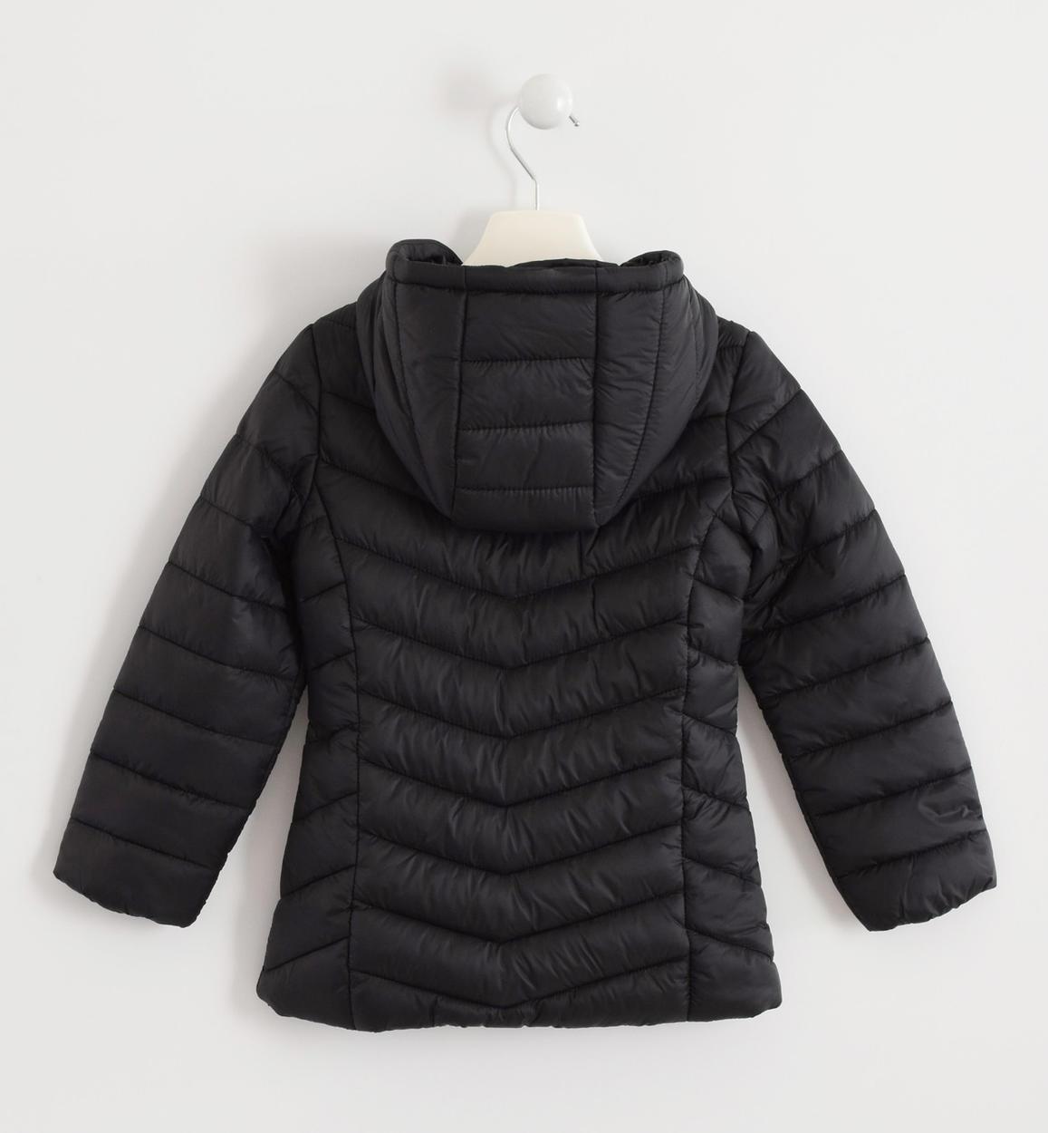 superior quality 349a6 4f326 Giubbotto modello 100 grammi con cappuccio per bambina da 6 a 16 anni  Sarabanda