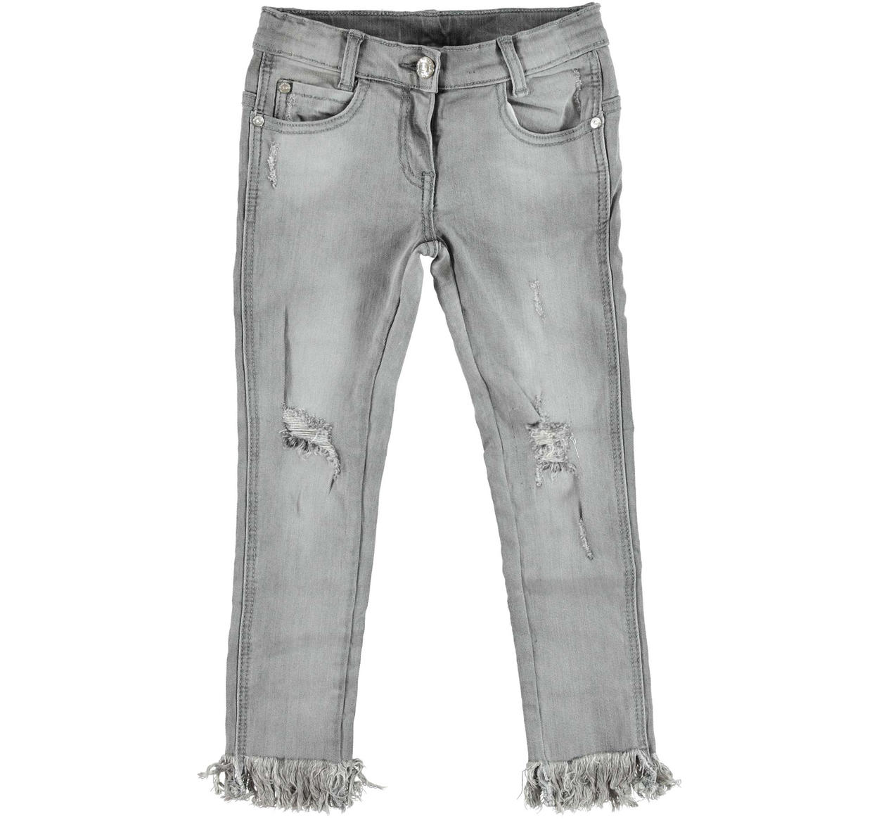 9d2f26912e Sarabanda stone washed super slim fit jeans with rips for girls from 6 to  16 years