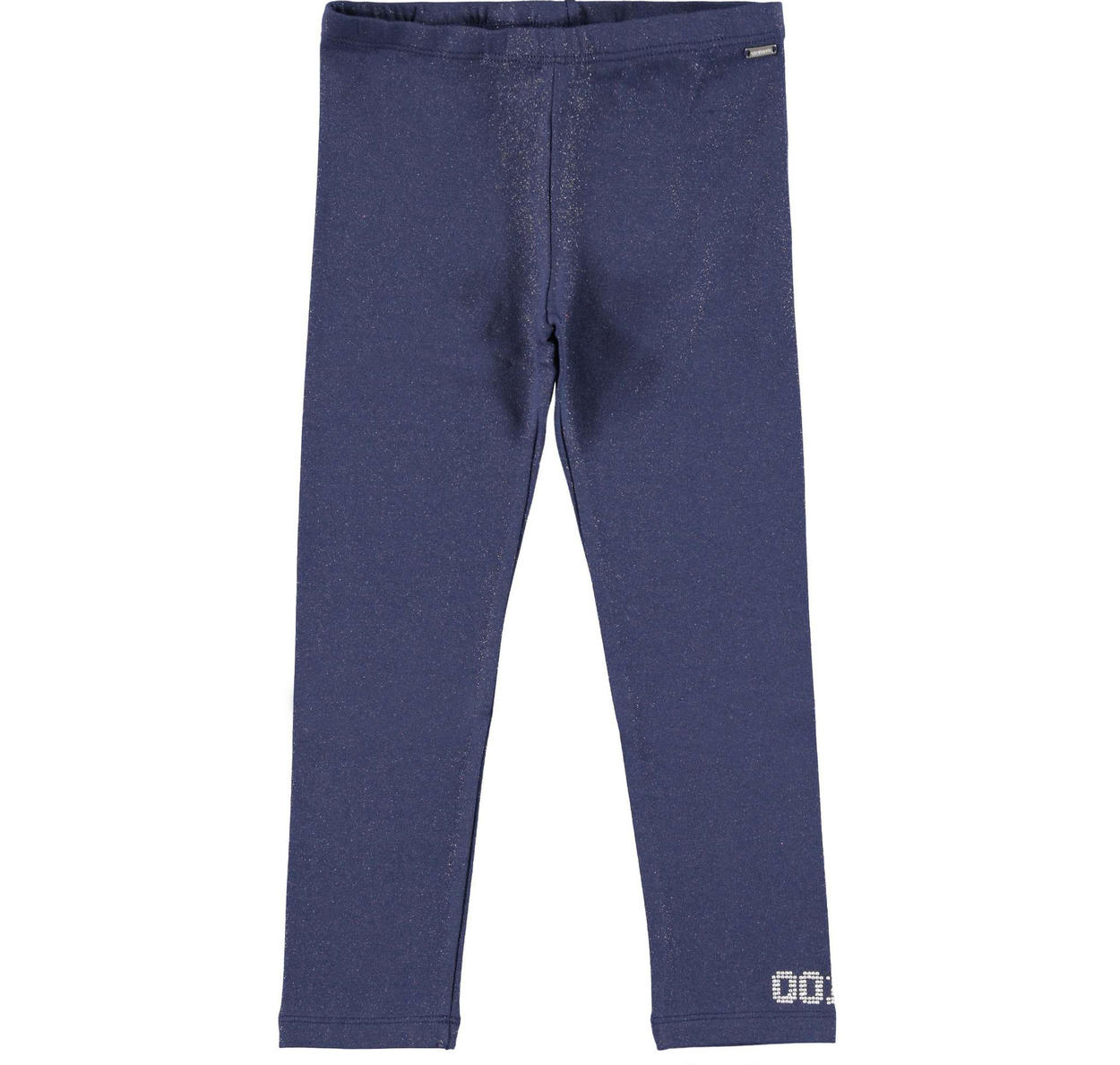97136f17cc192 Sarabanda glitter leggings with studs for girls from 6 to 16 years NAVY-SILVER  GLITTER