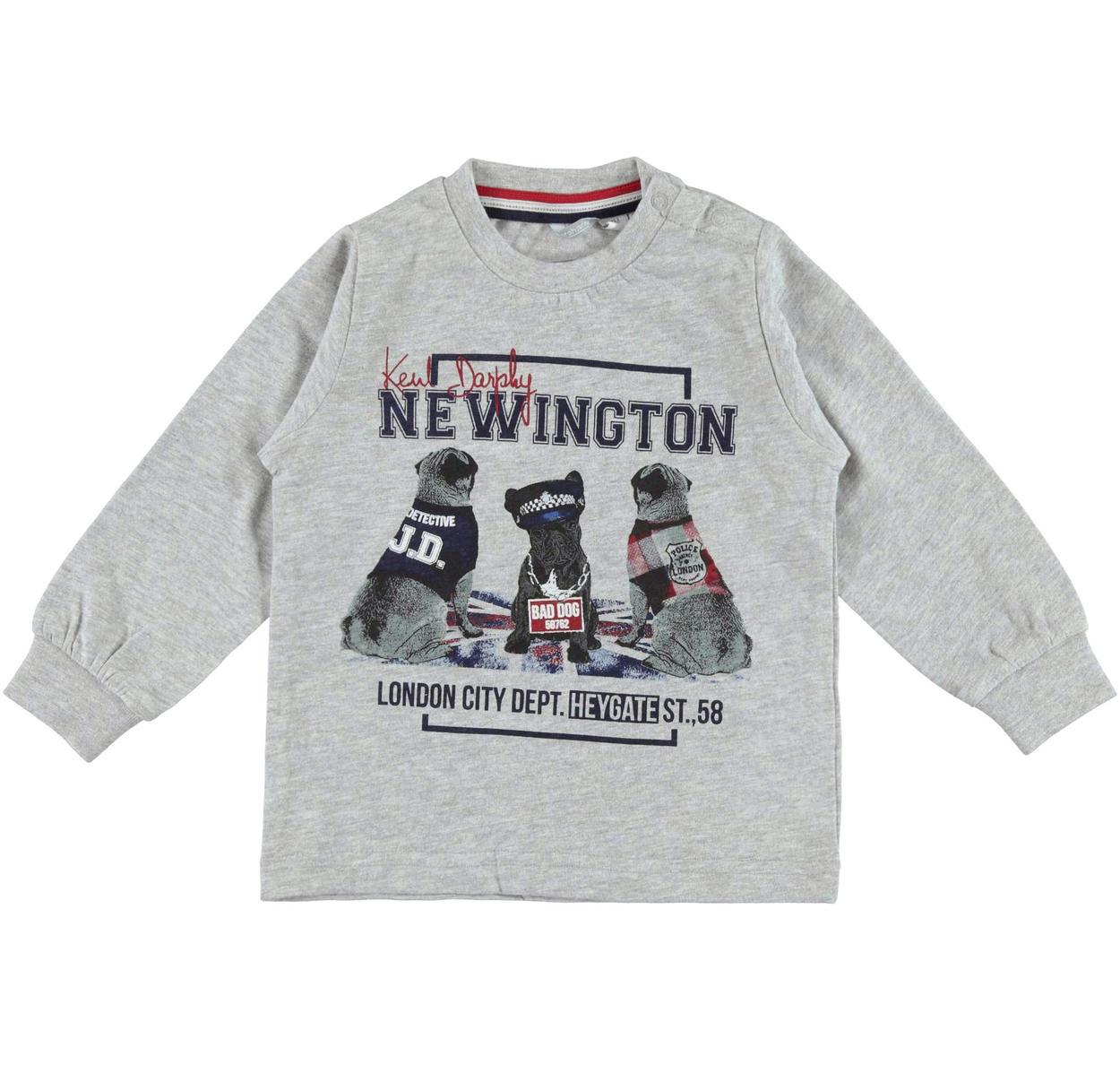 ced615a5e4 Maglietta in jersey finitura calda con cuccioli detective per bambino da 6  mesi a 7 anni