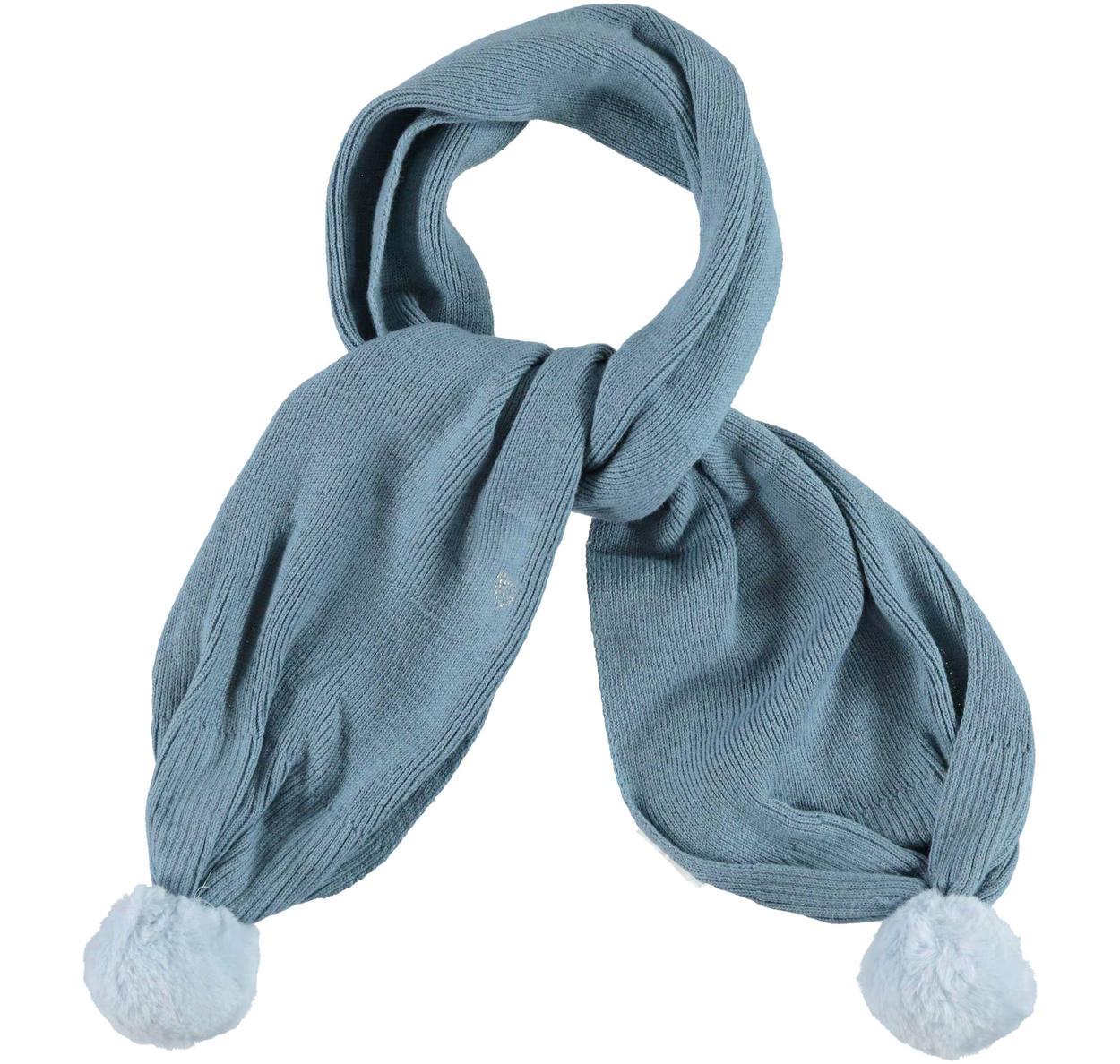 Morbida sciarpa con cuoricino di strass per bambina da 6 mesi a 7 anni  Sarabanda CARTA ae1a5b60d699