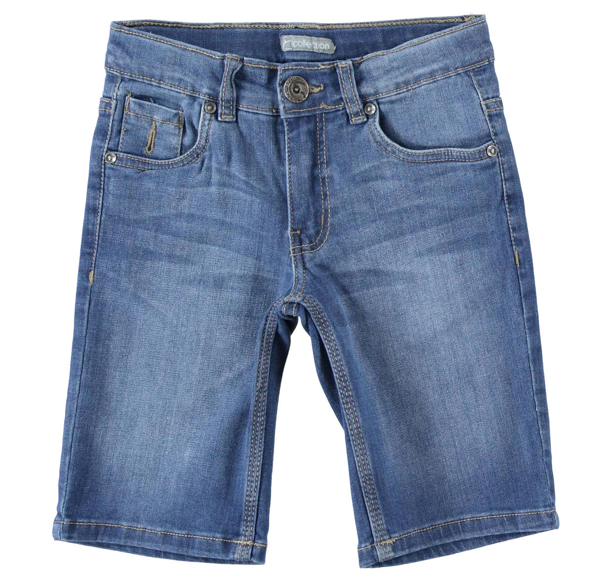 b9bee054ed Short denim trousers for boys from 6 to 16 years Sarabanda STONE WASHED-7450