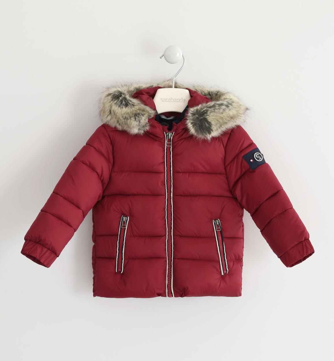 outlet store 79c2d 6aa19 Piumino invernale con fodera a contrasto per bambino da 6 mesi a 7 anni  Sarabanda