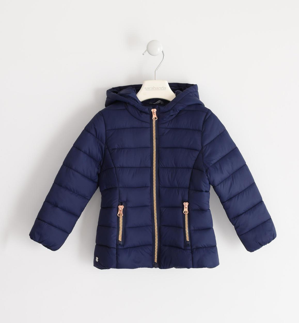 quality design dcb62 b993a Piumino modello 100 grammi con zip a contrasto per bambina da 6 mesi a 7  anni Sarabanda