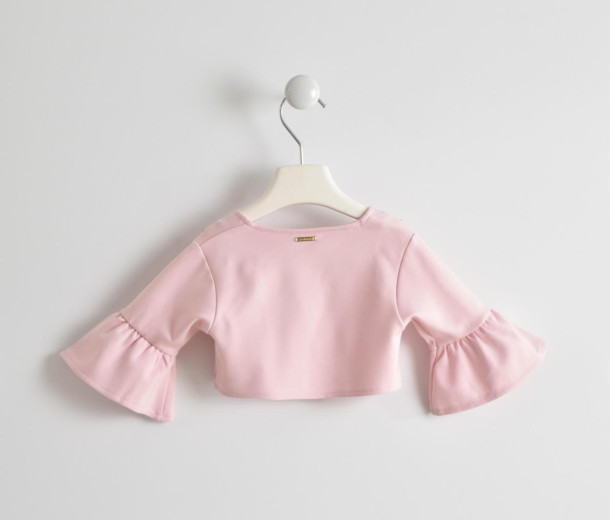 new concept 0fedd fd224 Coprispalle in viscosa con rouche e strass per bambina da 6 mesi a 7 anni  Sarabanda