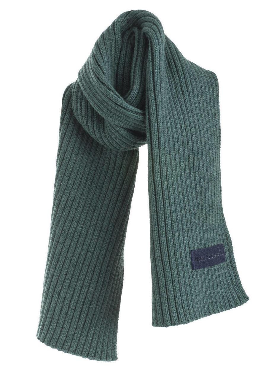 Sciarpa in tricot misto cotone per bambino da 6 mesi a 7 anni Sarabanda  VERDE- 66d3a28b1bf3