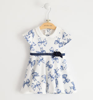 100% cotton jersey baby girl dress