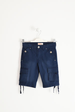 Cargo fit bermuda shorts