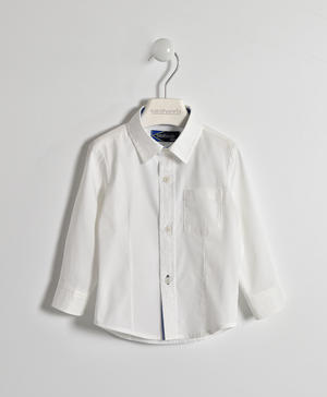 Classic shirt with Oxford trim WHITE