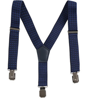 Adjustable suspenders for boy BLUE