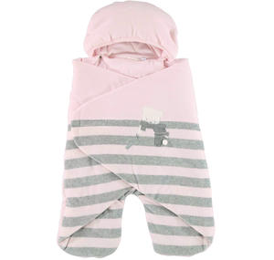 Very warm unisex 'bat-winged' sleep sack  PINK