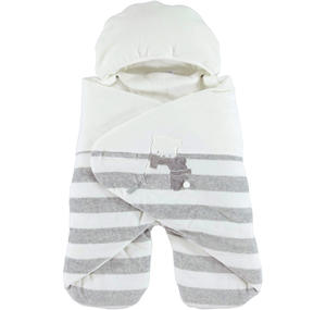 Very warm unisex 'bat-winged' sleep sack  CREAM