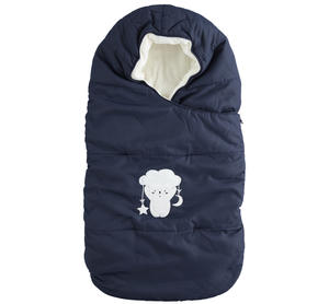 Warm and soft sleeping bag for newborn unisex model BLUE