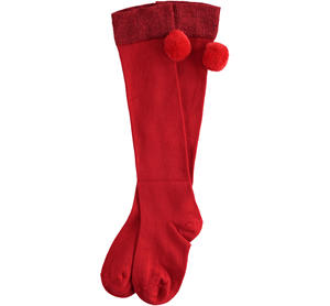 Lurex parisian socks RED