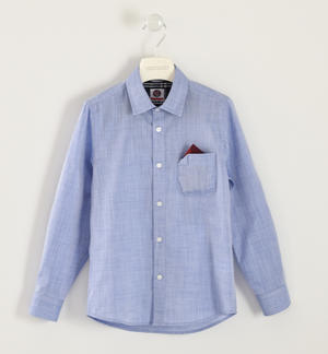 Classic Sarabanda shirt made of 100% cotton LIGHT BLUE