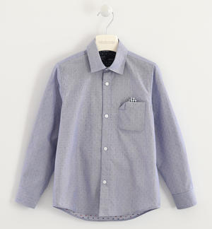 Classic Sarabanda shirt made of 100% cotton BLUE