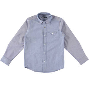 A 100% classic style shirt BLUE