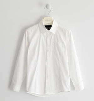 Classic shirt in cool poplin