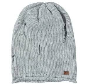 Cotton knitted beanie  GREY