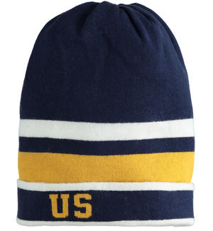 Beanie hat college-style tricot YELLOW