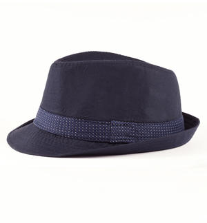 Poplin hat for boy