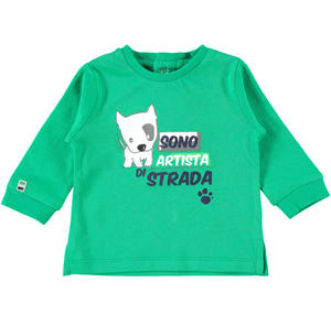 Comfortable 100% cotton baby boy t-shirt GREEN