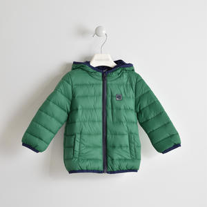 PADDED JACKET THERMAL FABRIC GREEN