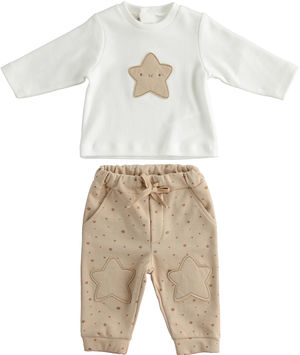 "Unisex model outfit for newborns 100% organic cotton ""organic capsule¿"