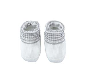 Lovely and comfortable baby boy socks 100% cotton GREY