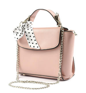 Elegant bag for girl in eco-leather PINK