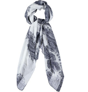 Elegant and refined pashmina for boy BLUE