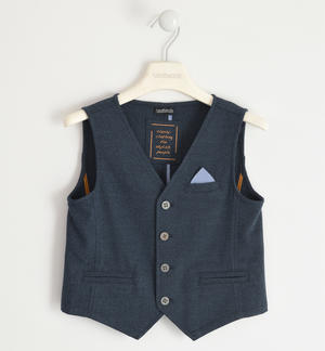 Elegant vest with pochette for boy