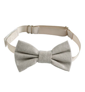 Elegant classic bow tie for baby boy BEIGE