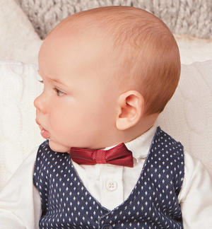 Elegant red bow tie RED