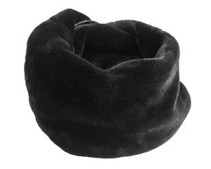 Elegant faux fur neck warmer  BLACK